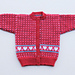 Sweet Hearts Fair Isle Baby Cardigan pattern