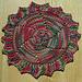 Painted Sun Washcloth pattern