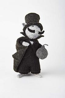 Dickens souris Knitting Pattern-Alan Dart-Sirdar 4132-Neuf