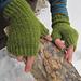 Woven Rib Fingerless Gloves pattern