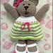 Mrs Bakery Bear pattern