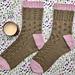 Amore Sampler Socks pattern