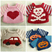 A Simple Sweater, 3 ways pattern
