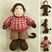 Boy Monkey pattern