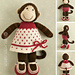 Girl Monkey pattern