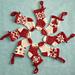 Mini Christmas Stocking Ornaments pattern