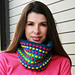 Everlasting Gobstopper Cowl pattern