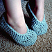 Simple Child Slippers pattern