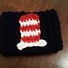 Cat in the Hat Cup Cozy pattern