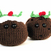 Amigurumi Christmas Puddings pattern