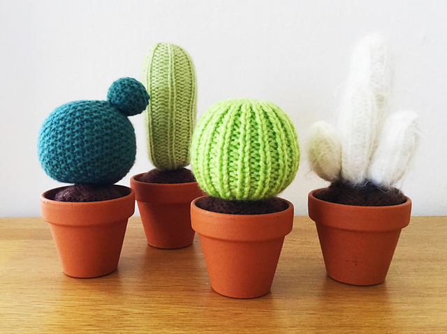 Ravelry Baby Cactus Garden Pattern By Butterflylove1