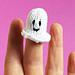 Halloween Finger Ghost pattern