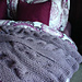 Wintry Cable Knit Afghan pattern