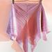 Strips bactus scarf pattern