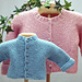 Baby 'J' Multi-directional Cardigan #420 pattern