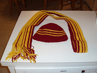 Heather Hat and Scarf