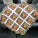 Cheeseburger Granny Afghan pattern