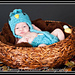 605 chunky bluebird hat and diaper cover pattern