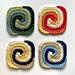 Spiral Granny Square pattern