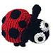 Microcosmos: Ladybug pattern