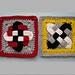 Celtic Knot Squares pattern