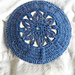 Star Anise Lacy Beret pattern