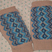 Fingerless Rovaniemi Mittens pattern