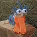Labyrinth Worm Amigurumi pattern
