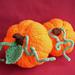 Natural Look Halloween Pumpkin pattern