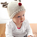 Tiny Reindeer Hat pattern