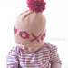 XOXO Hugs & Kisses Valentine Hat pattern