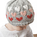 Ombre Heart Hat pattern