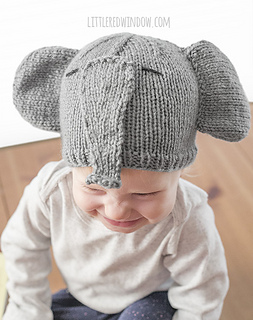 Ravelry: Tiny Elephant Hat pattern by Cassandra May