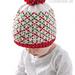Christmas Plaid Baby Hat #1 pattern