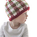 Christmas Plaid Baby Hat #3 pattern