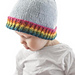 Rainbow Brim Hat pattern