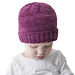 Easy Folded Brim Baby Hat pattern