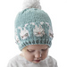 Easter Bunnies Hat pattern