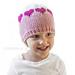 Valentine Colorblock Hat pattern