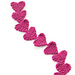 Easy Knit Heart Garland pattern