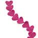 Easy Knit Heart Garland pattern