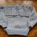 Guernsey style sweater pattern