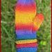 Mochi Plus Springy Ring Cuff Mittens pattern