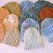 #54 Spiral Rib Hat pattern