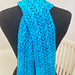 Feminine Mystique Lace and Cable Scarf pattern