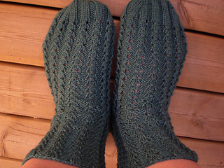 bed socks outdoors