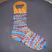 Lonely Socks Club: Estonian Spiral Sock pattern