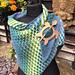 Brickwork Kite Shawl pattern