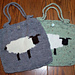 Intarsia Sheep Bag pattern