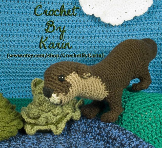 PATTERN: Otter Friends - Crochet otter pattern - amigurumi otter ...   583x640